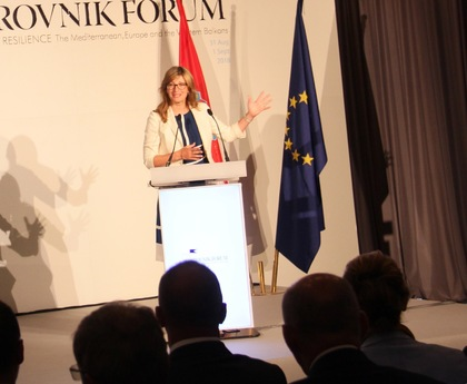 Ekaterina Zaharieva at the Dubrovnik Forum: the Balkans have undergone a sea change in 20 years, but we must fight for democracy day in, day out