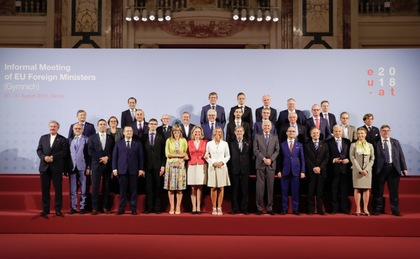 EU foreign ministers reaffirm their pursuit of the priorities of the Bulgarian Presidency towards integration of the Western Balkans