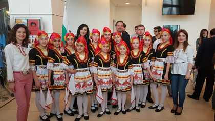 The Bulgarian Embassy in Baku participated in the 8th ADA International Festival