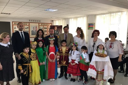 "Representatives of the Bulgarian Embassy in Baku visited Secondary School ""Rovshan Nasirov"" in Baku"