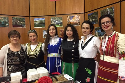 А charity bazaar of  the International Diplomatic Spouses Association (IDSA)